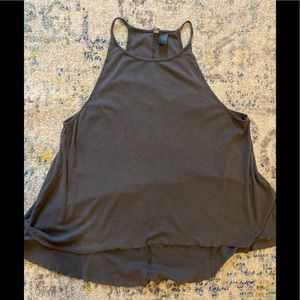 H&M Divided slate grey tank top